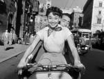 """Audrey Hepburn e Gregory Peck in """"Vacanze Romane"""" (1953)"""