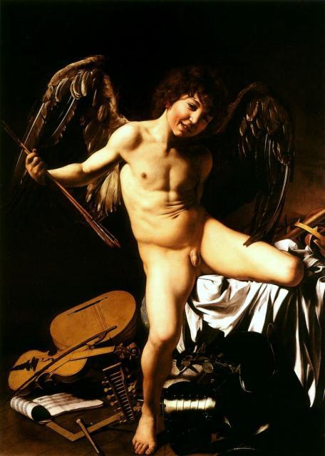 """Caravaggio, """"Amor vincit omnia"""", 1603"""
