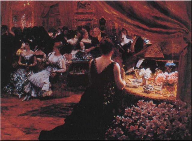 """G. De Nittis, """"Il salotto della principessa Matilde"""", 1883"""