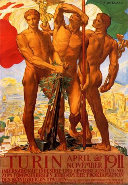 Manifesto dell'Esposizione Internazionale di Torino, 1911