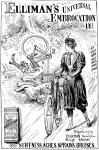 La gonna-pantalone per andare in bici, 1897