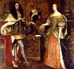 Ferdinando Maria di Baviera ed Enrichetta Adelaide di Savoia, 1666