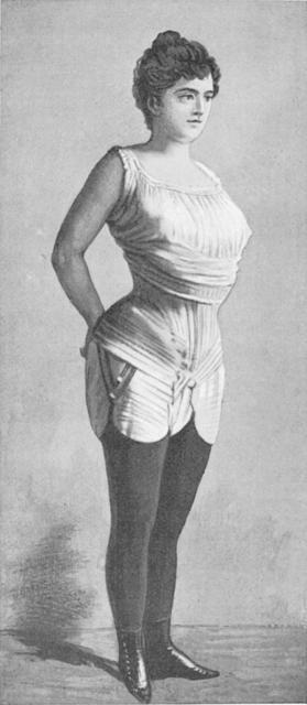 Il corsetto riformato di Inès Gaches-Sarraute, 1892 circa