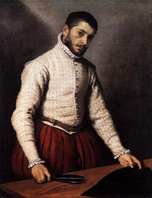 "G.B. Moroni, ""Il sarto"", 1565 circa"