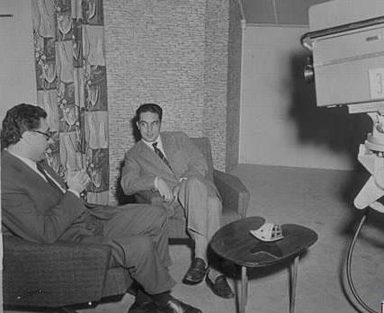 Calvino intervistato da Luigi Silori in RAI, 1958