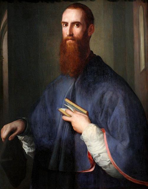 """Pontormo, """"Ritratto di monsignor Della Casa"""", 1540-1543"""