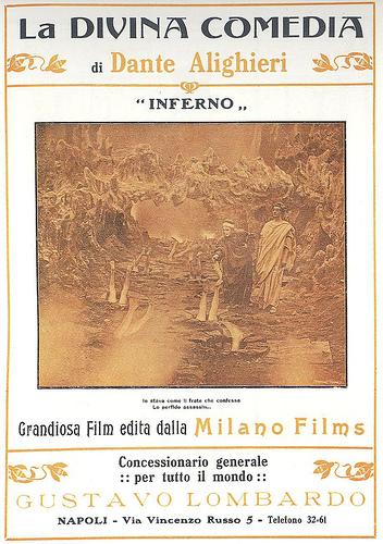 """Locandina del film """"L'Inferno"""" (1911)"""