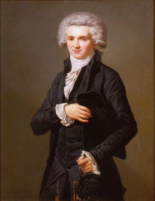 Ritratto di Robespierre, 1786