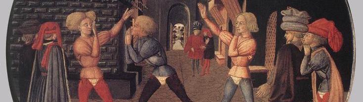 """Lo Scheggia, """"Gioco del Civettino"""", 1450"""