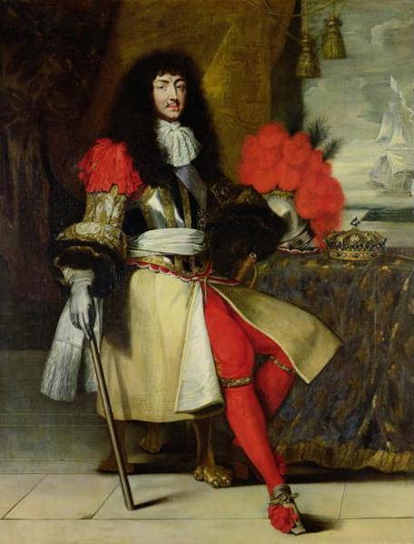 Luigi XIV in ritratto del 1673 circa