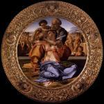 """Michelangelo, """"Tondo Doni"""", 1503-04"""
