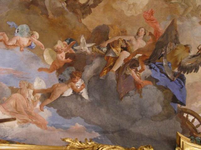 """Tiepolo, """"Il carro del sole"""", 1740"""
