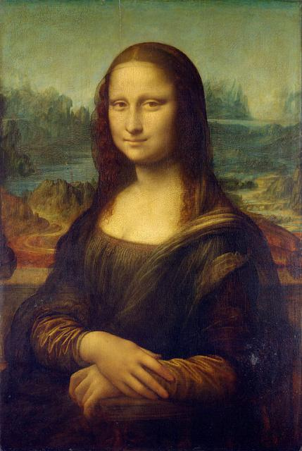 """Leonardo, """"Gioconda"""", 1503-1506"""