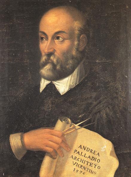 Andrea Palladio in un ritratto del 1576