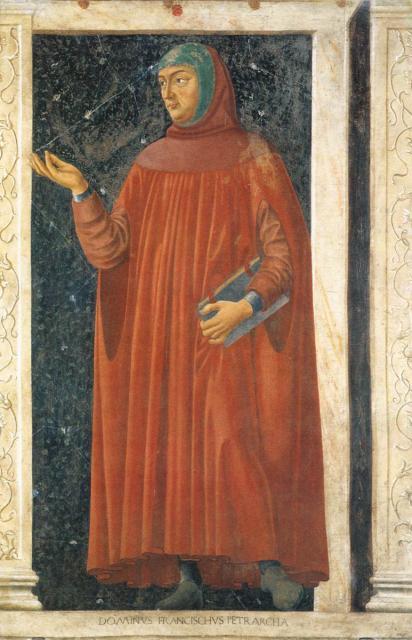 Francesco Petrarca (Ciclo degli uomini e delle donne illustri)