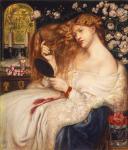 "Dante Gabriele Rossetti , ""Lady Lilith"", 1867"