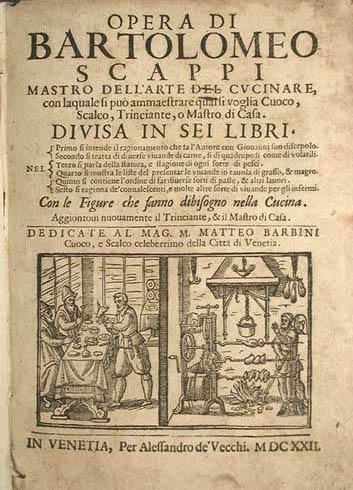 L'Opera di Bartolomeo Scappi