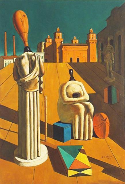 """De Chirico, """"Le muse inquietanti"""", 1918"""
