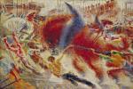 """Boccioni, """"La città che sale"""", 1910-11"""