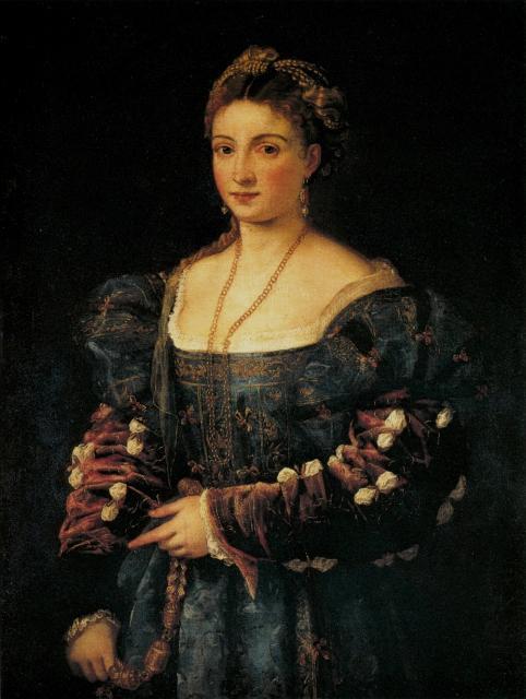 """Tiziano, """"La bella"""", 1536"""