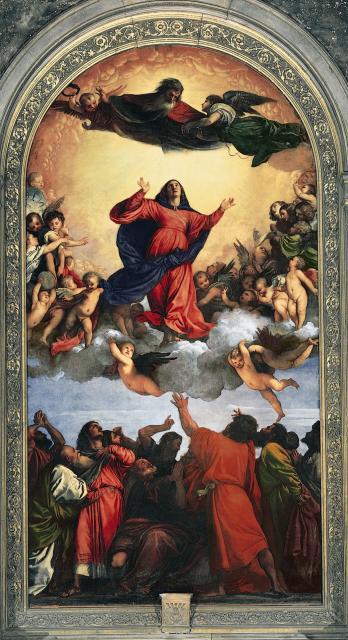 "Tiziano, ""Assunta"", 1518"