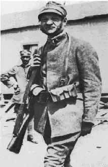 Giuseppe Ungaretti durante il servizio militare