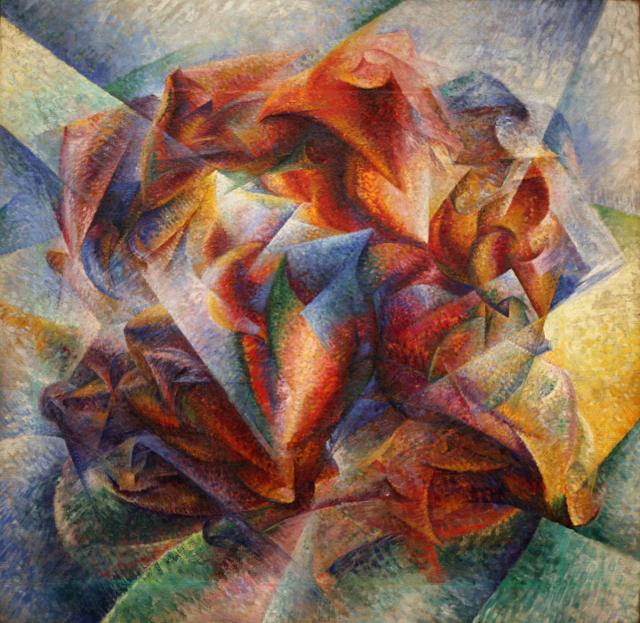 """Boccioni, """"Dinamismo di un calciatore"""", 1913"""