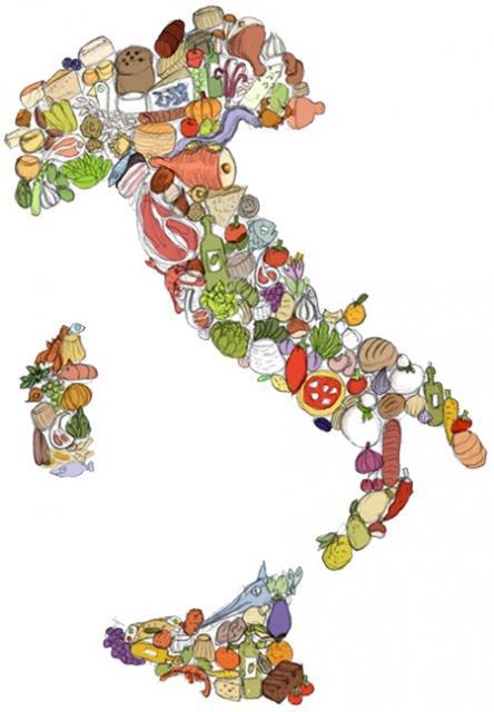 "L'Italia vista dal ""food illustrator"" Biscalchin"