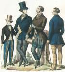 """Figurino dal """"Giornale dei Sarti"""", 1852"""