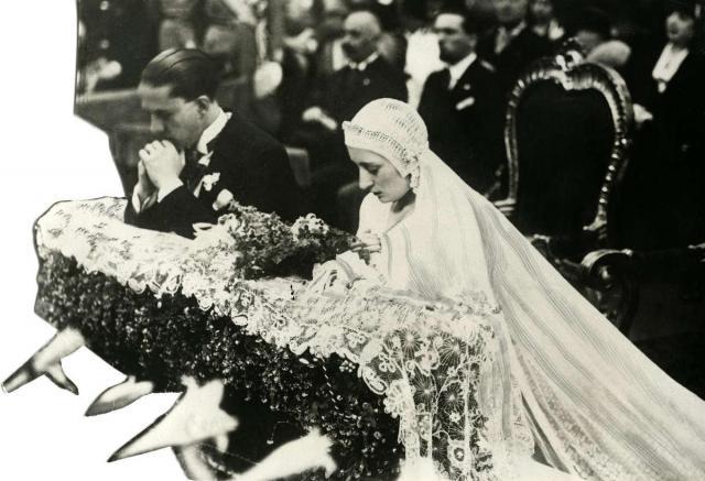 Matrimonio Di Romano Mussolini : Il matrimonio di edda mussolini e galeazzo ciano vivit