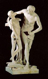 """Canova, """"Dedalo e Icaro"""", 1777-79"""