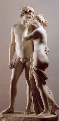 """Canova, """"Venere e Adone"""", 1794"""