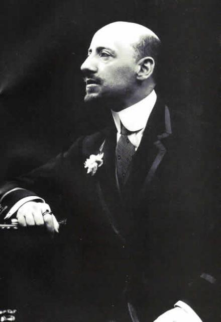 Gabriele D'Annunzio, primi del Novecento