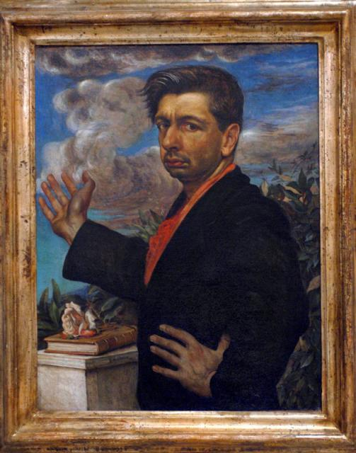 """Giorgio De Chirico, """"Autoritratto"""", 1923"""