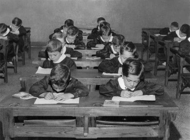 Giorni di scuola, 1954