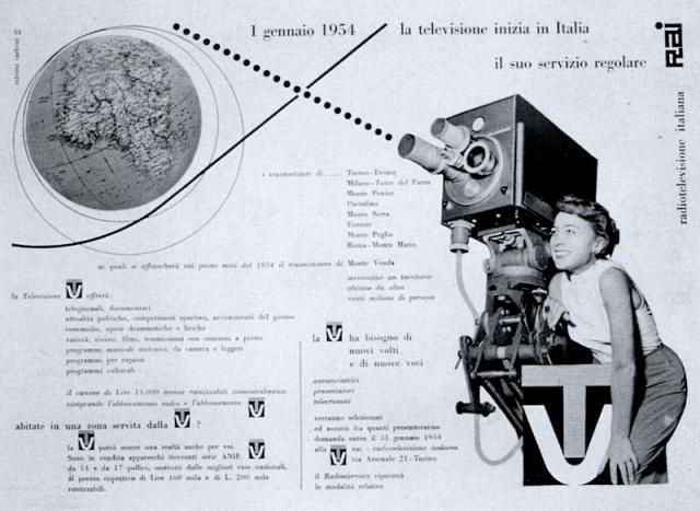 3 Gennaio 1954: nasce la TV italiana