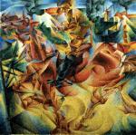 """Boccioni, """"Elasticità"""", 1912"""