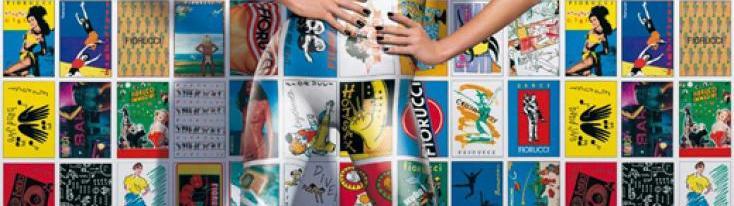 Fiorucci, immagine pubblicitaria