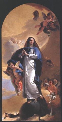 """Tiepolo, """"Immacolata Concezione, 1733"""
