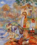 Le lavandaie di Renoir