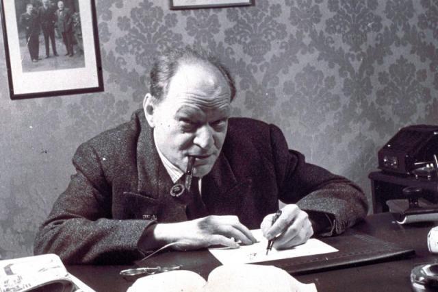 Il poeta Giuseppe Ungaretti